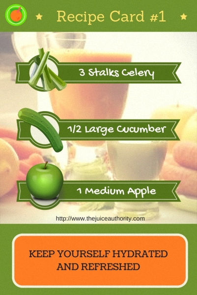 Stay Hydrated Juice Recipe - The Juice Authority
