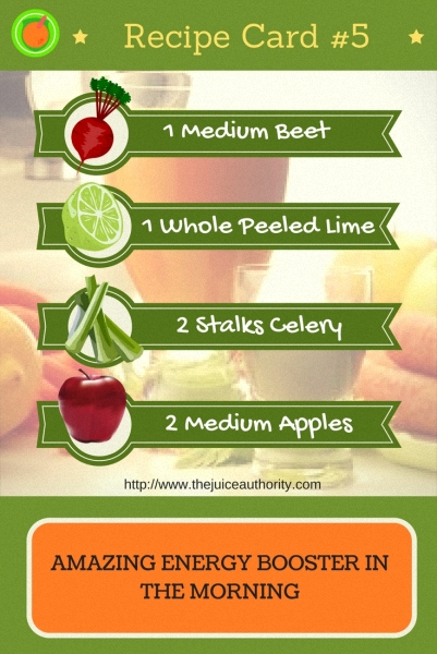 Energy Booster Juice Recipe - The Juice Authority
