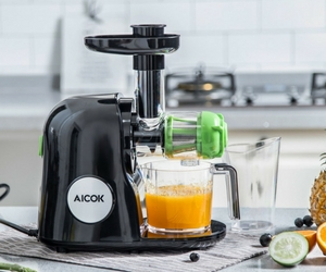 Aicok Slow Masticating Juicer Review - Power and Speed