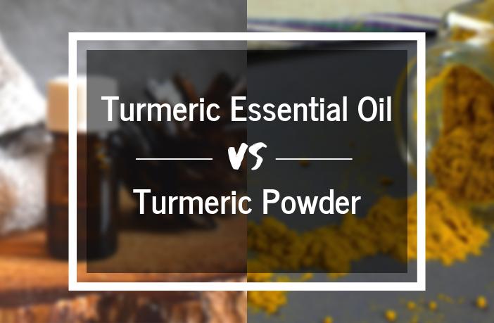 Turmeric Essential Oil vs Powder