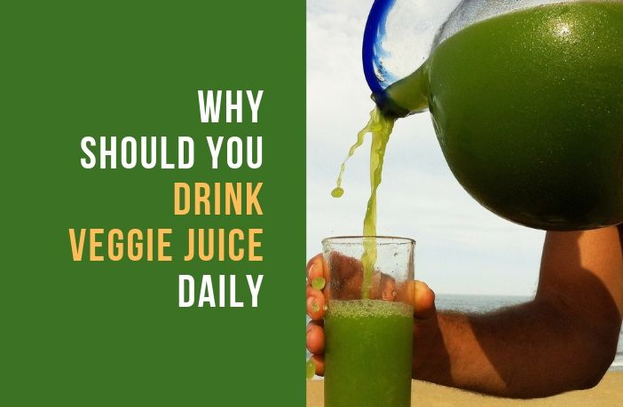 Benefits of Drinking Vegetable Juice Daily