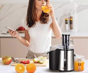 Make healthy juices quickly - Juicer Review