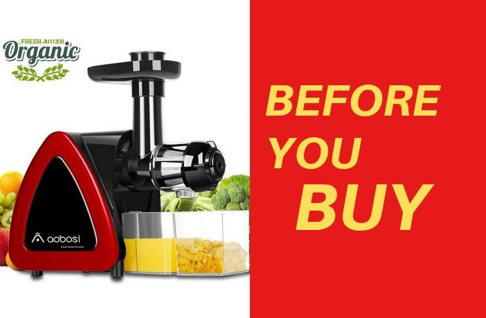 Aobosi Slow Masticating Juicer Review