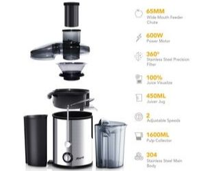 Loaded with features - Joerid Juicer 2019 Upgrade
