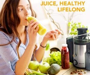Make healthy juices easily - Joerid Juicer 2019 Upgrade