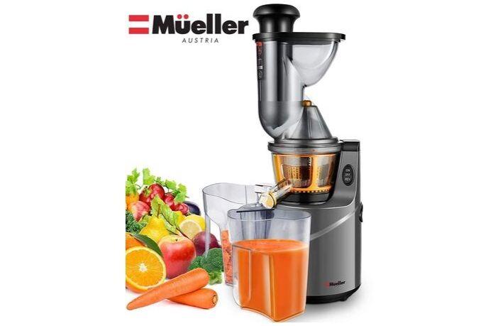 Mueller Austria Juice Max Pro Vertical Masticating Review
